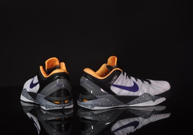 Nike Kobe VII (7) 'White/Court Purple-Black-University Gold' at afew