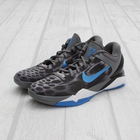 Nike Kobe VII (7) Cheetah 'Wolf Grey/Photo Blue-Black-Cool Grey' at Concepts