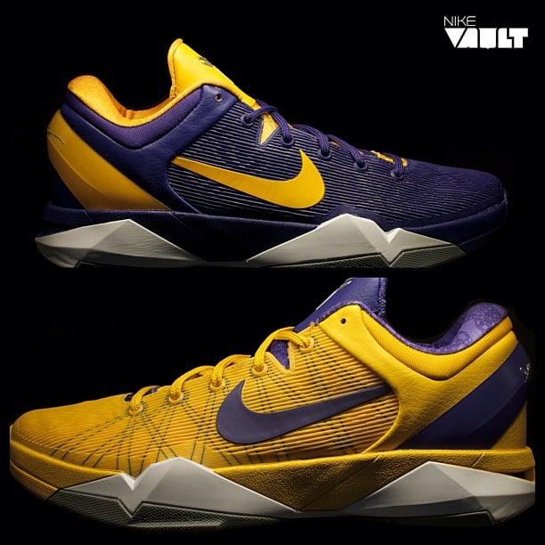 Nike Kobe VII (7) 'Positive/Negative at NikeVault