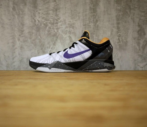 Nike Kobe VII (7) 'White/Court Purple-Black-University Gold' - Release Date + Info