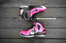 Nike LeBron 9 P.S. Elite 'Bret the Hitman Hart' by Mache Custom Kicks