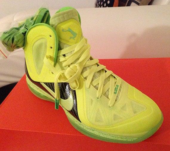 Nike LeBron 9 P.S. Elite 'Tennis Ball' aka 'Dunkman'