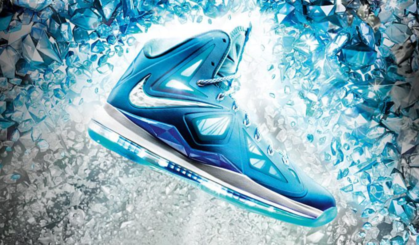 128c51d9965a5 Nike LeBron X+  Blue Diamond  - New Images