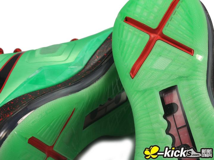 Nike LeBron X (10) 'Cutting Jade' - Detailed Look