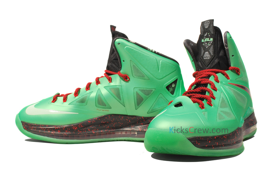 Nike LeBron X (10) 'Cutting Jade' - New Images