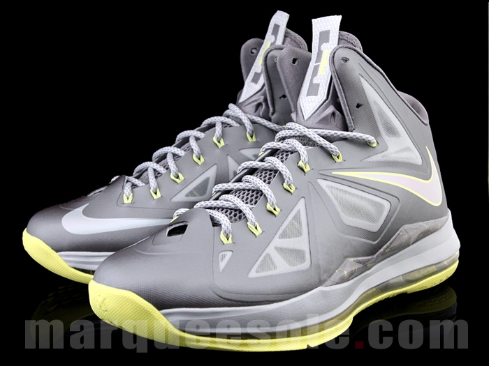 Nike LeBron X (10) 'Canary Diamond'