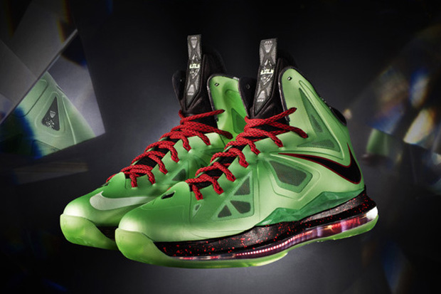 Nike LeBron X (10) 'Cutting Jade' - New Image