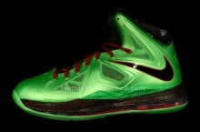 Nike LeBron X (10) 'Cutting Jade' at House of Hoops