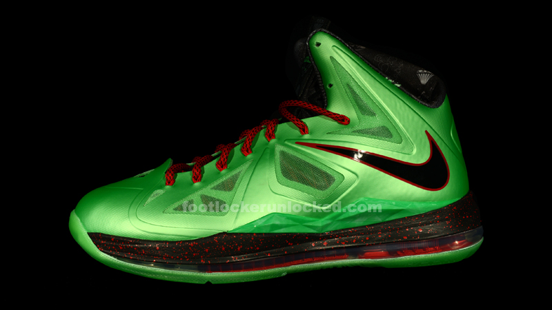 Nike LeBron X (10) 'Cutting Jade' at House of Hoops