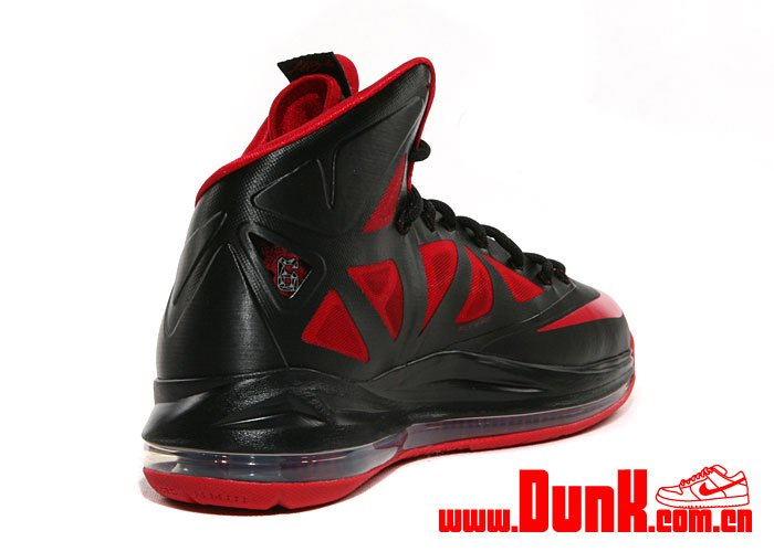 Nike LeBron X (10) XDR 'Black/University Red'