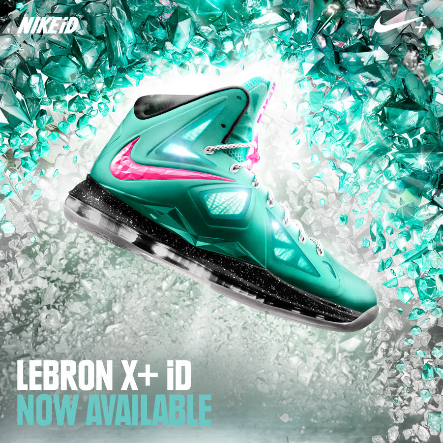 Nike LeBron X (10) iD - Now Available