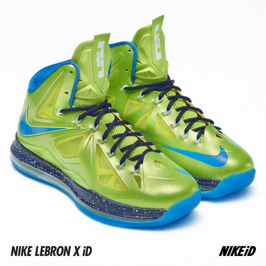 Nike LeBron X (10) iD Samples  6e5e867a42