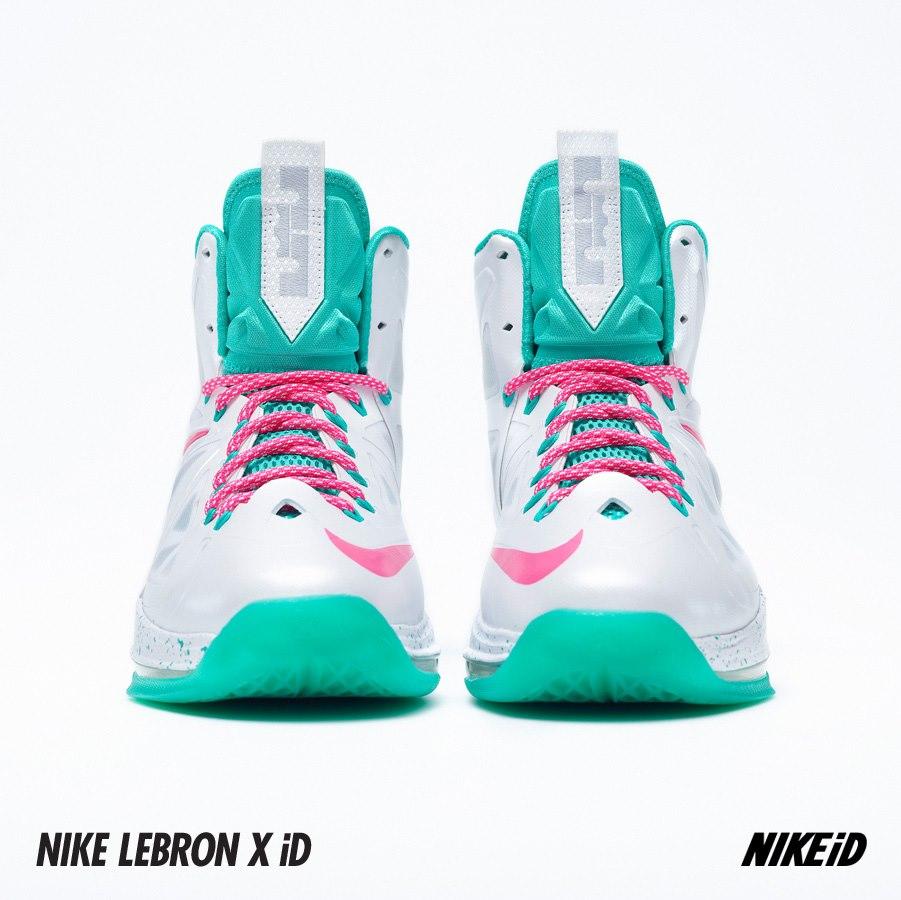 Nike LeBron X (10) iD Samples