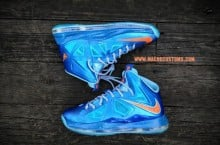 Nike LeBron X 'China' by Mache Custom Kicks