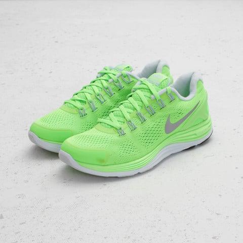 Nike LunarGlide+ 4 'Electric Green/Reflective Silver'