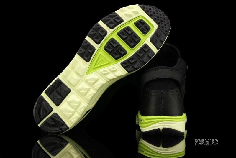 Nike LunarRidge OMS 'Black/Atomic Green'