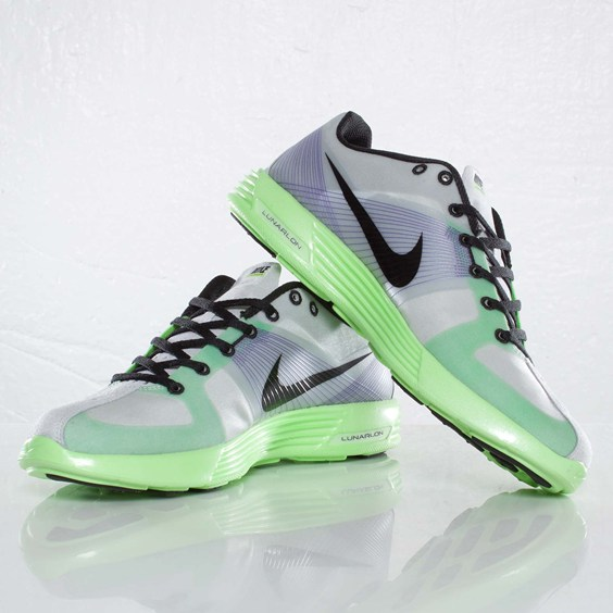 Nike Lunaracer+ 'Pure Platinum/Black-Ultraviolet-Electric Green'