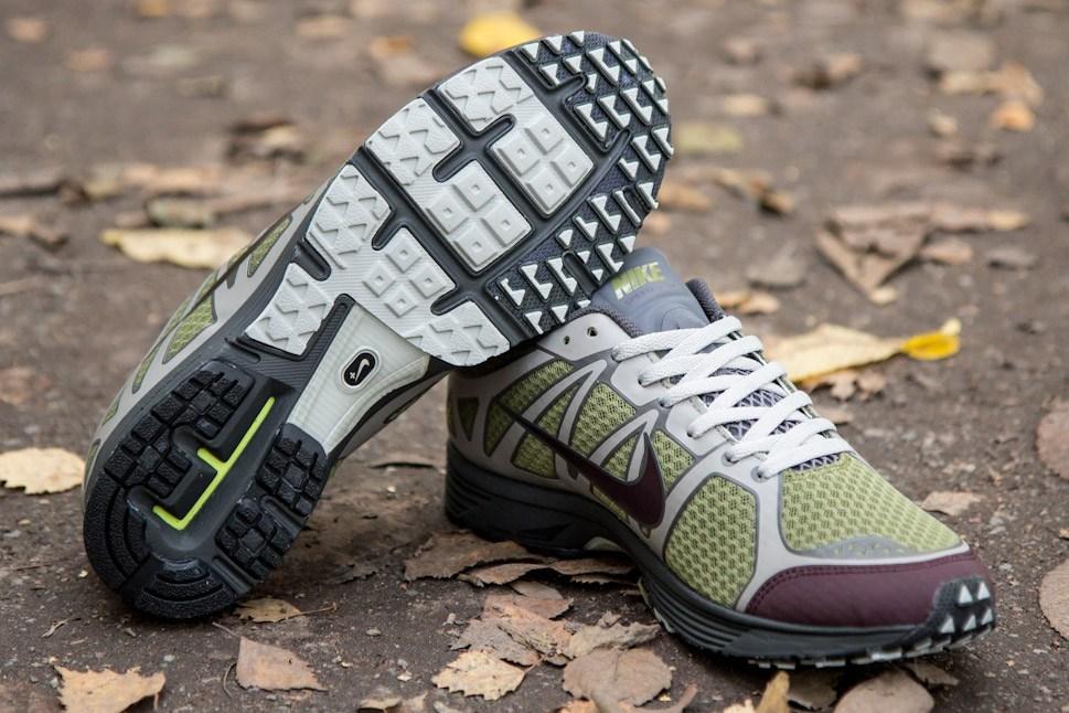 Nike Lunarspeed Lite+ GYAKUSOU 'Scenery Green/Deep Burgundy-Soft Grey'