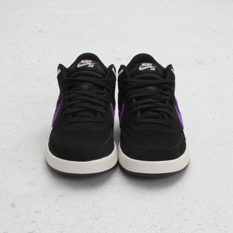 Nike SB Challenge Court Mid  Black Court Purple-Sail  at Concepts ... 6ea43ea1048a