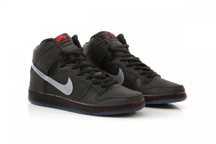Nike SB Dunk High Premium 'Reflective' at DQM