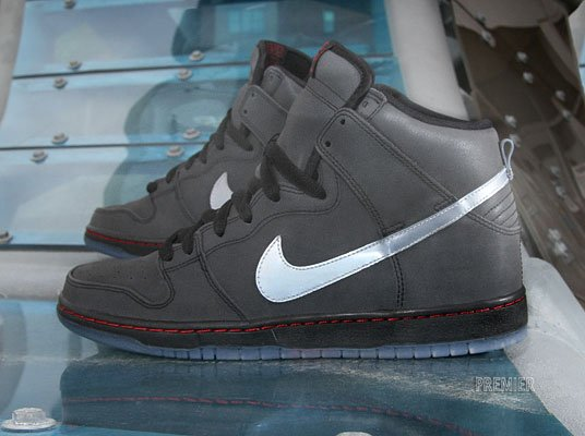Nike SB Dunk High Premium 'Reflective' at Premier