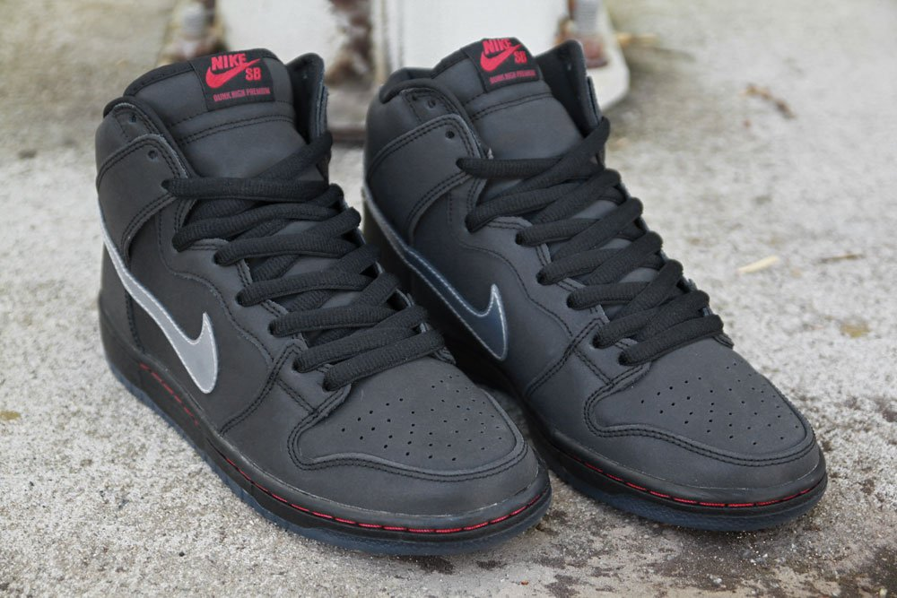 Nike SB Dunk High Premium 'Reflective' at Primitive