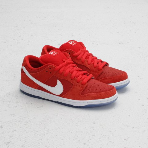 Nike SB Dunk Low 'Challenge Red' at Concepts