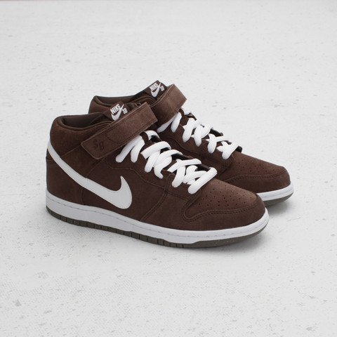 buy online 9216b eee51 ... Nike SB Dunk Mid  Baroque Brown  at Concepts ...