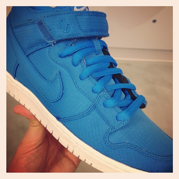 Nike SB Dunk Mid Ripstop 'Dynamic Blue' - Spring 2013