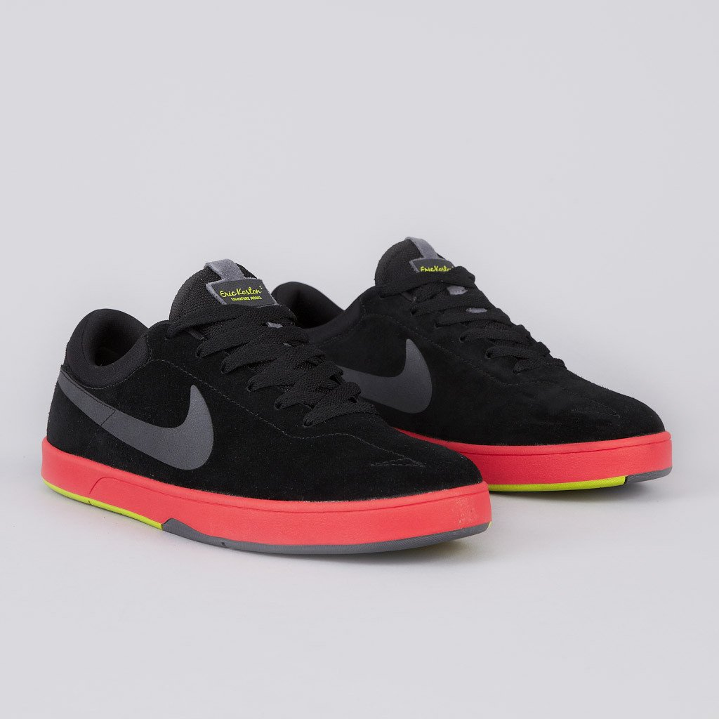 Nike SB Eric Koston 'Black/Dark Grey-Sunburst-Atomic Green'