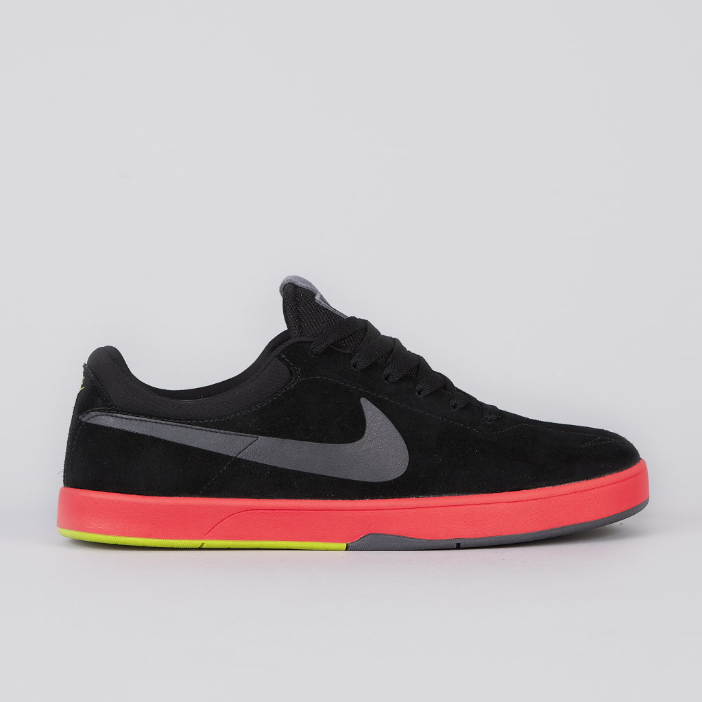 Nike SB Eric Koston 'Black/Dark Grey-Sunburst-Atomic Green'