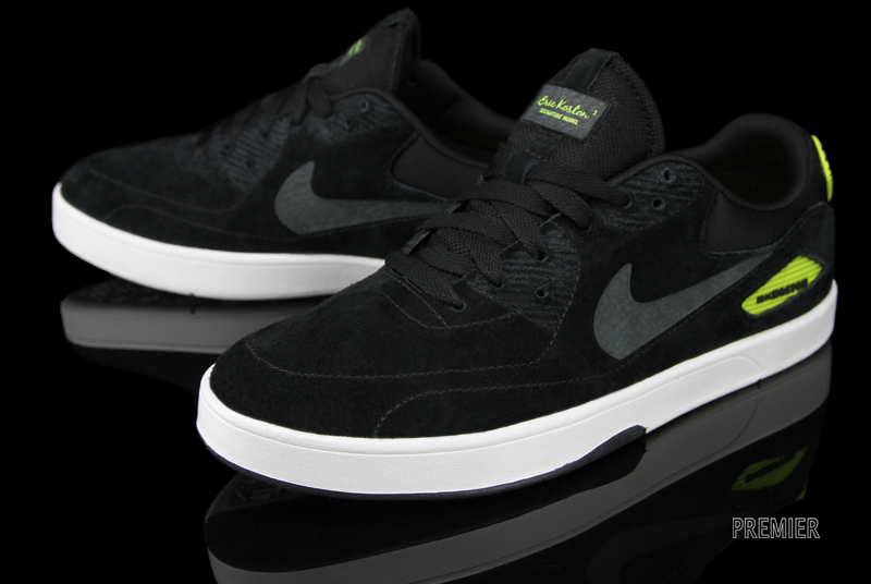 Nike SB Eric Koston Heritage  Black Anthracite-Atomic Green  at Premier 5e2ebc53f9