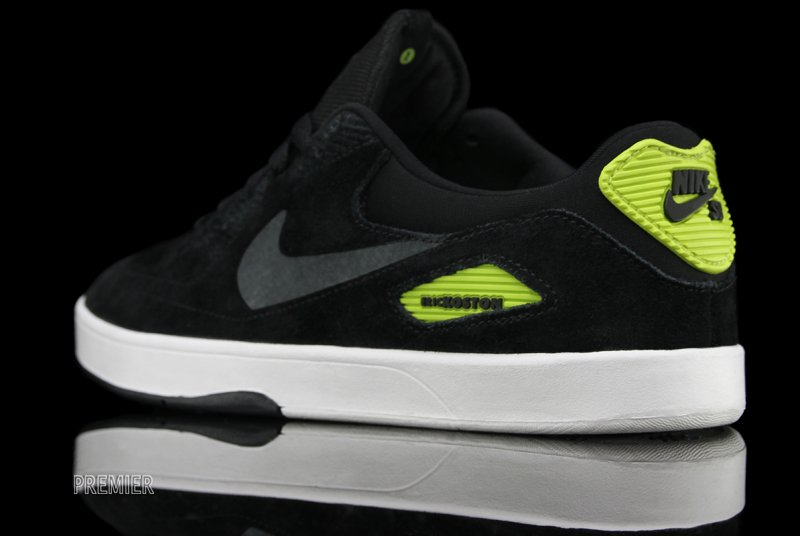 Nike SB Eric Koston Heritage 'Black/Anthracite-Atomic Green' at Premier