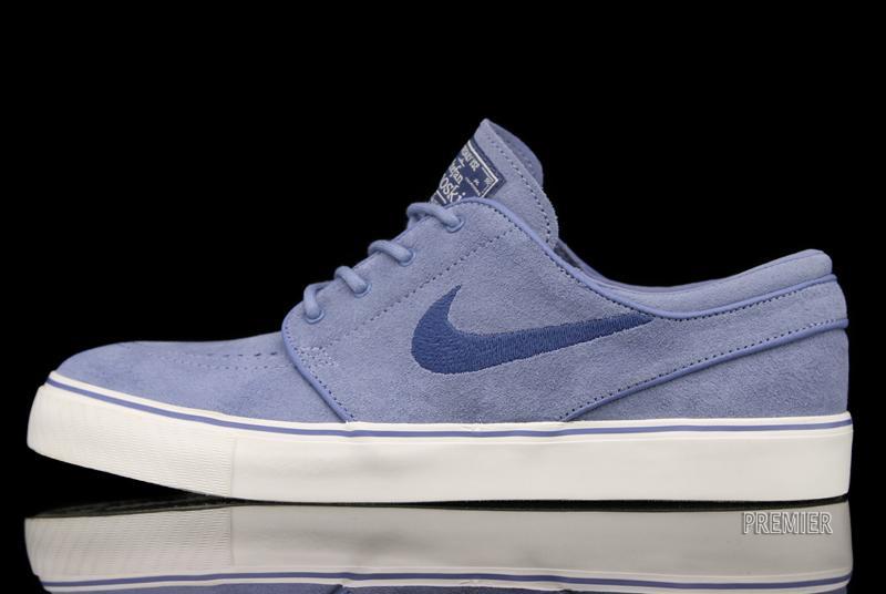 Nike SB Stefan Janoski 'Work Blue/Utility Blue-Sail' at Premier