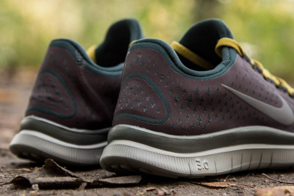 Nike WMNS Free 3.0 V4 GYAKUSOU 'Mahogany/Midnight Fog-Seaweed'