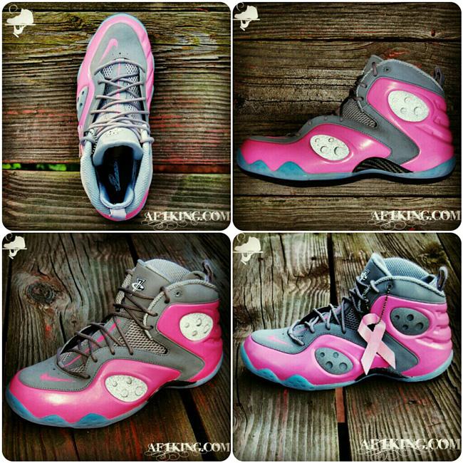 Nike Zoom Rookie LWP 'Think Pink' by GourmetKickz