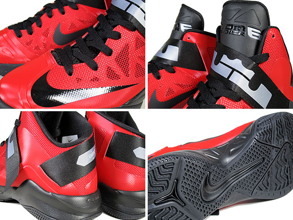 Nike Zoom Soldier 6 'University Red/Black-Wolf Grey'