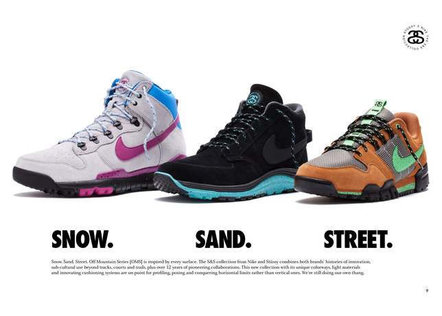 Nike and Stussy Introduce the S&S Off Mountain Series