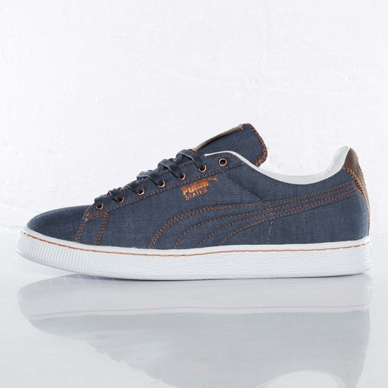 PUMA States 'Navy Blue Denim'