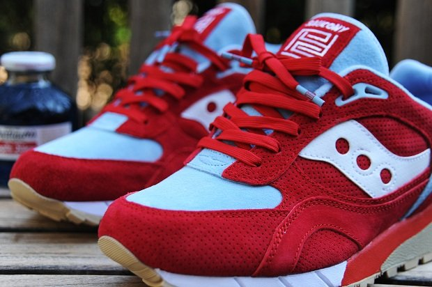 PYS x Saucony Shadow 6000 'Blue Apple' Designed by BAIT