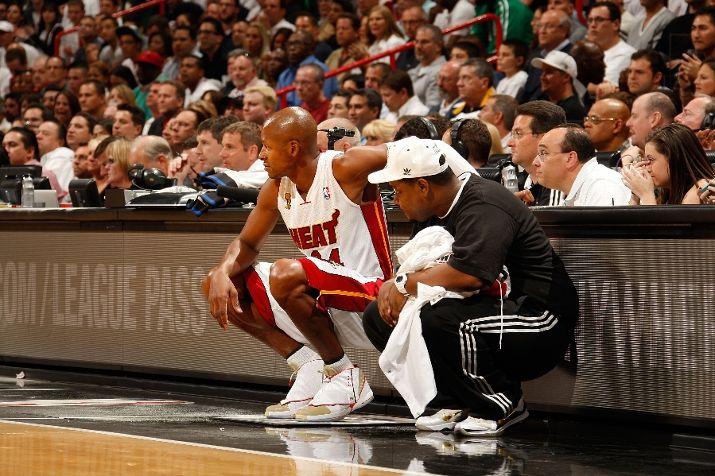 Ray Allen Makes Miami Debut in Air Jordan XVI (16) PE