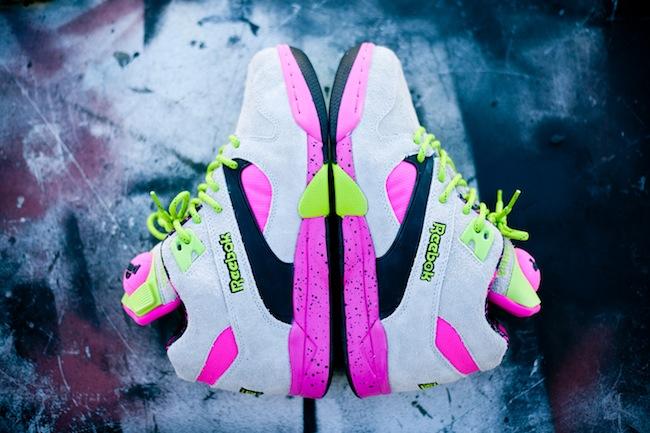 Reebok Pump Omni Lite 'Grey/Pink/Neon'