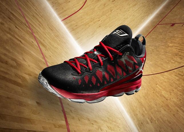 buy online 3a79c 77f80 Release Reminder  Jordan CP3.VI  Black White-Gym Red