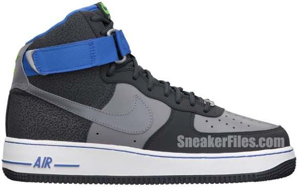 Release Reminder: Nike Air Force 1 High 'Anthracite/Cool Grey'