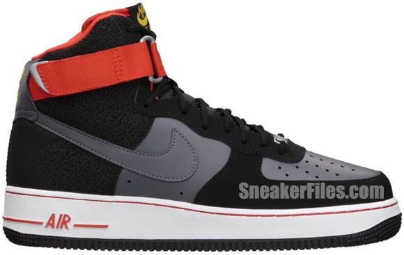 Release Reminder: Nike Air Force 1 High 'Black/Dark Grey'