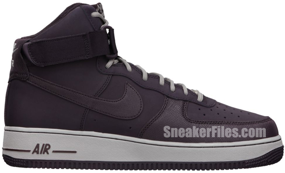 Release Reminder: Nike Air Force 1 High 'Port Wine'