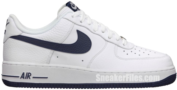 Release Reminder: Nike Air Force 1 Low 'White/Midnight Navy'