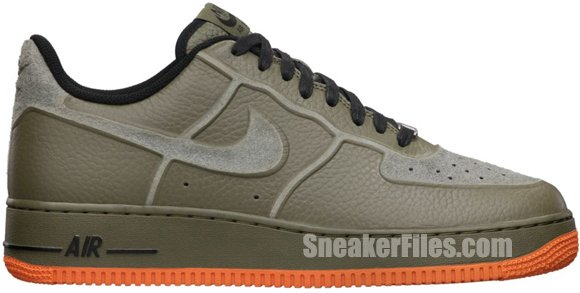 Release Reminder: Nike Air Force 1 Premium Skive Tech VT 'Medium Olive'