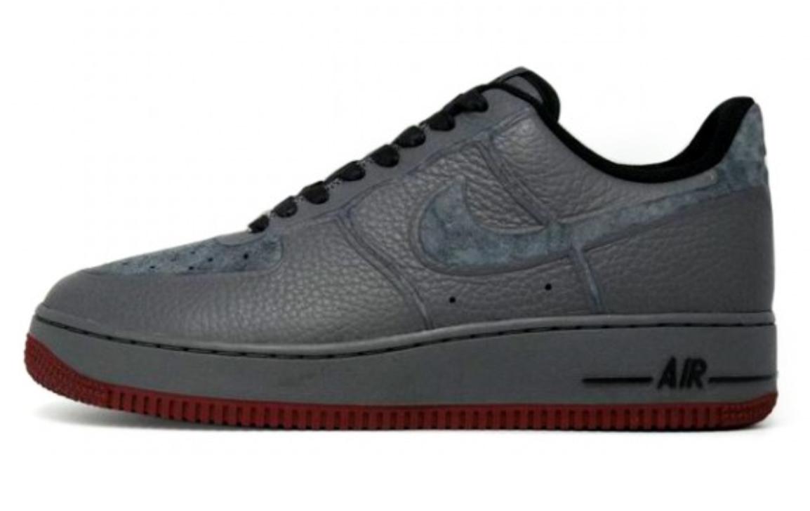 Release Reminder: Nike Air Force 1 Premium Skive Tech VT 'Dark Grey'
