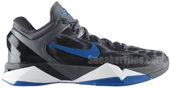 Release Reminder: Nike Kobe VII (7) Cheetah 'Wolf Grey/Photo Blue-Black-Cool Grey'